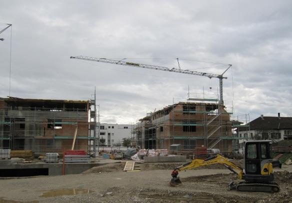 Baufortschritt: Dachgeschoss