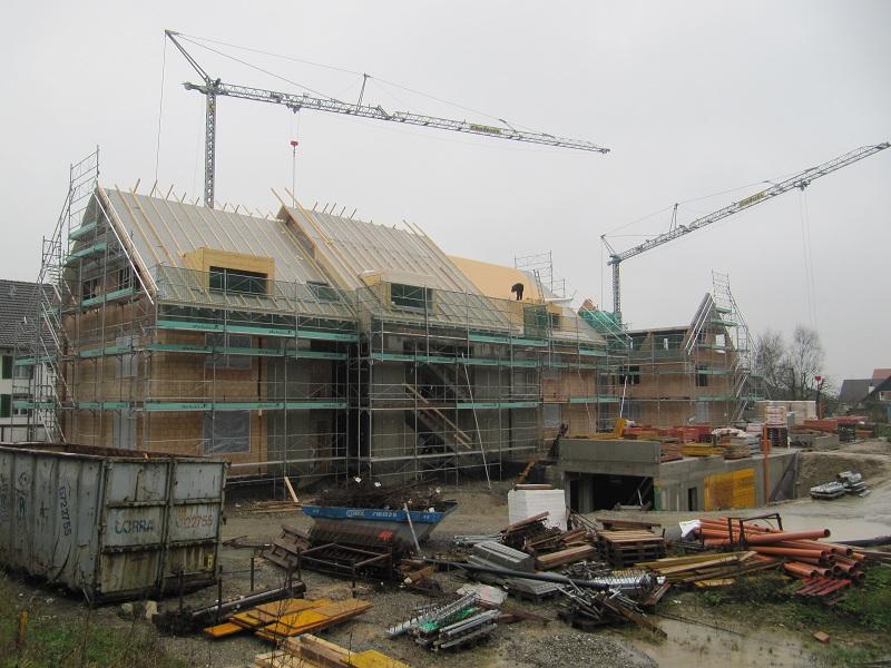 Erstes Dach